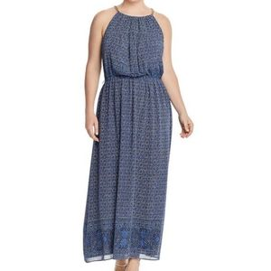 NWT MK Printed Chain Maxi Dress